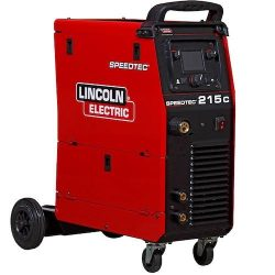 Lincoln Speedtech 215C Inverter MIG Welder available at Gasrep Services
