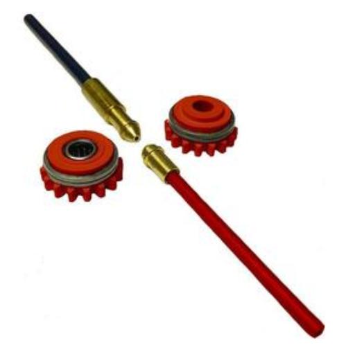 F000239 Kemppi Knurled drive roll kit 1.0mm