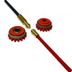 F000241 1.0mm AL Kemppi Drive Rollers available at Gasrep Services